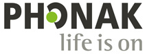 Logo Phonak life is on pos RGB 300dpi