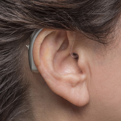 Phonak Behind The Ear Female Side Crop